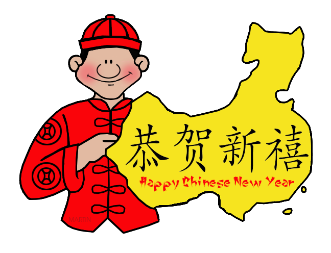 Happy Chinese New Year Map